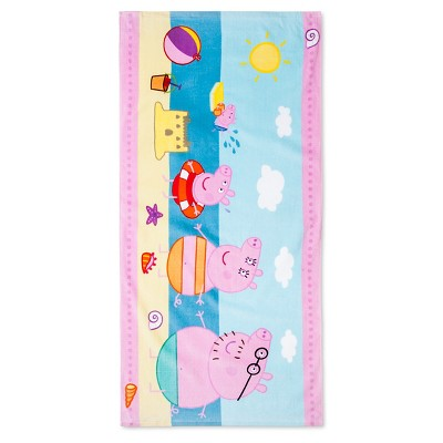 License Peppa The Pig Beach Towel