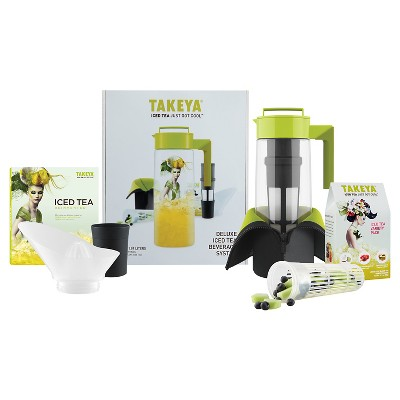 Takeya Deluxe Flash Chill Iced Tea Beverage System (2Qt)