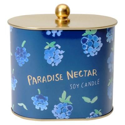 Fashionable Fruits Tin Candle Paradise Nectar - 12 oz