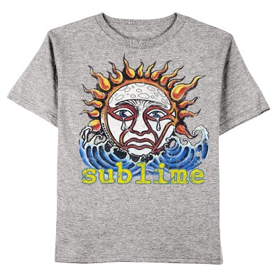 Toddler Boys' Sublime Tee Shirt - Charcoal Heather 2T