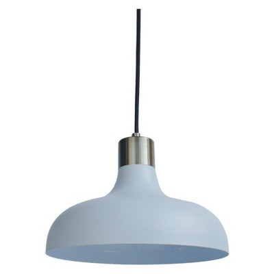 Crosby Collection Small Pendant Light White (Includes CFL bulb) - Threshold™