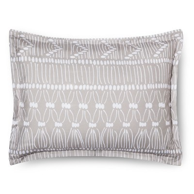 Geo Printed Sham - Light Brown  (Standard) Room Essentials™