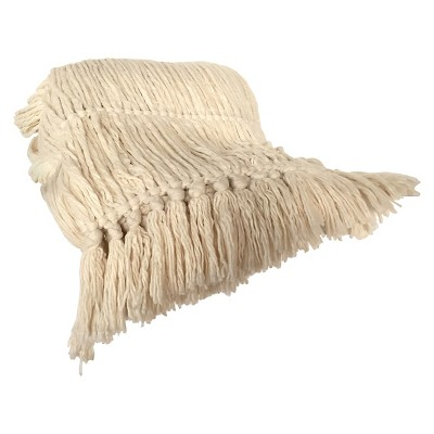 Longstrand Woven Throw White - Nate Berkus ™