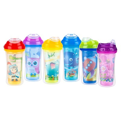 Nuby 2pk 9oz Insulated Clik-it Cool Sipper