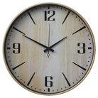 """Wall Clock Wood Grain 16"""" - Threshold™"""