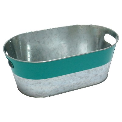 Summer Oval Beverage Tub - Teal