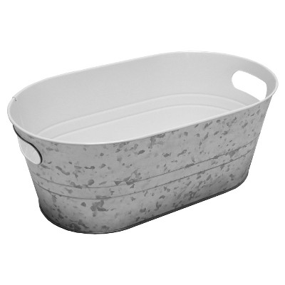 Summer Oval Beverage Tub - Steel