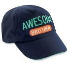 JOY NBB Baseball Hat Navy/Orange