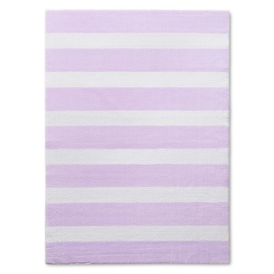 "Stripe Accent Rug Purple 48""x66"" - Pillowfort™"