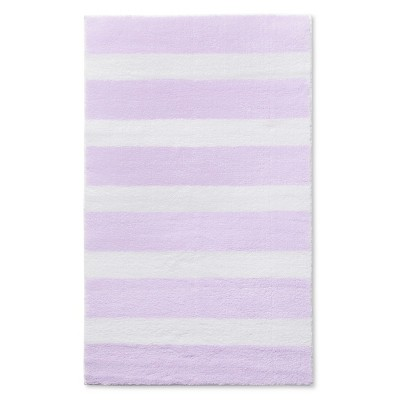 "Stripe Accent Rug Purple 30""x48"" - Pillowfort™"