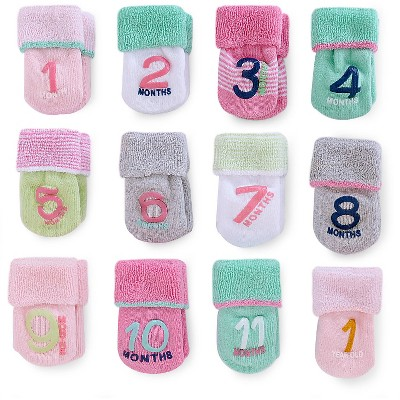Just One You™Made by Carter's® Girls' Birthday Month Socks