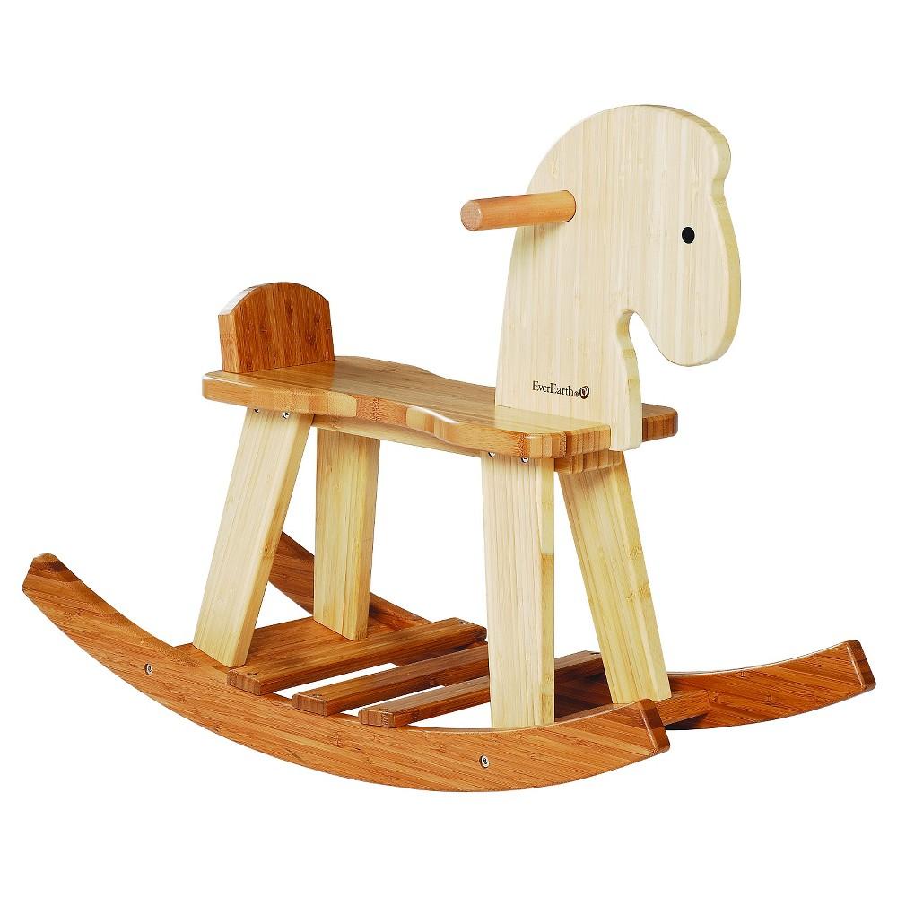 EverEarth Bamboo Rocking Horse