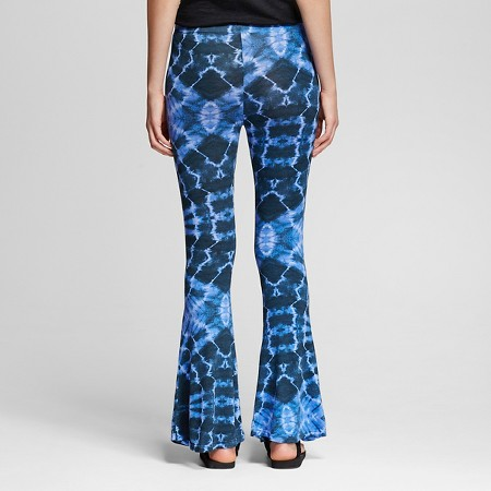 Juniors' Flare Leggings Tie Dye Blue XL - Xhilaration™ : Target