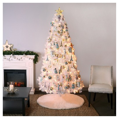 Modern Pastels Christmas Ornaments Collection