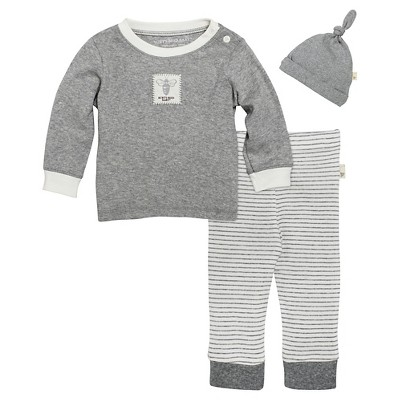 Top And Bottom Sets Burt's Bees Baby 6-9 M HEAGRE