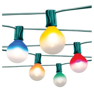 10ct String Lights Multi Frosted Ombre - Room Essentials™