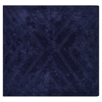 Square Bath Rug  Mood Ring Blue - Nate Berkus™