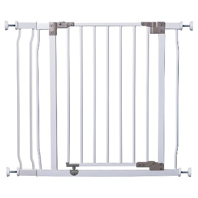 DreamBaby® Liberty  Auto-Close Combo Baby Gate White with extension & Smart Stay-Open Feature