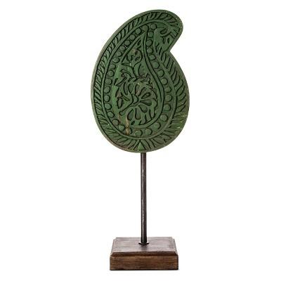 Boho Boutique™ Leaf Medallion - Green