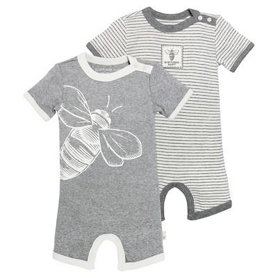Burt's Bees Baby™ Bodysuit - Heather Grey 0-3M