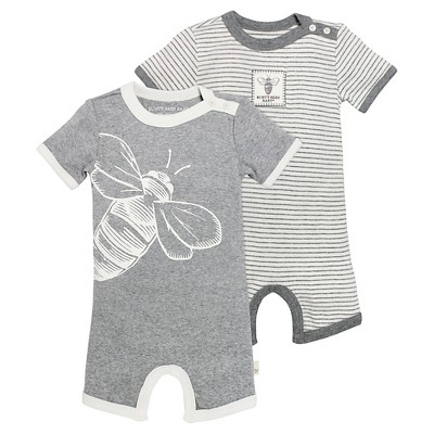 Coveralls Burt's Bees Heather Grey 3-6 M