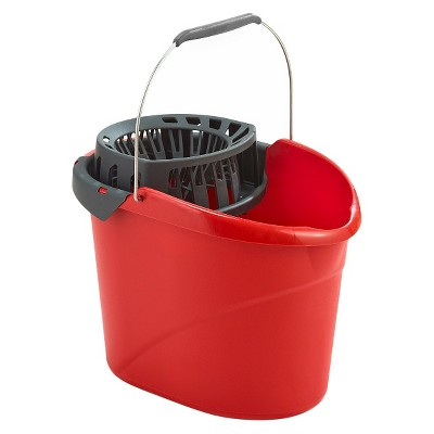 O-Cedar Quick Wring Bucket -Red