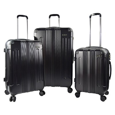 Travelers Club Luggage - Black