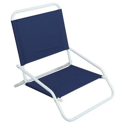 """EV Summer Sand Beach Chair 5"""" Blue"""