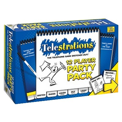 Telestrations® 12 Player Party Pack Drawing Game