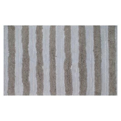 Bath Rug Creamy Chai Stripe (20x) - Nate Berkus™