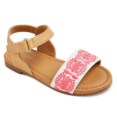 Toddler Girls' Jolanda Slide Sandal Pink 6 - Cherokee®