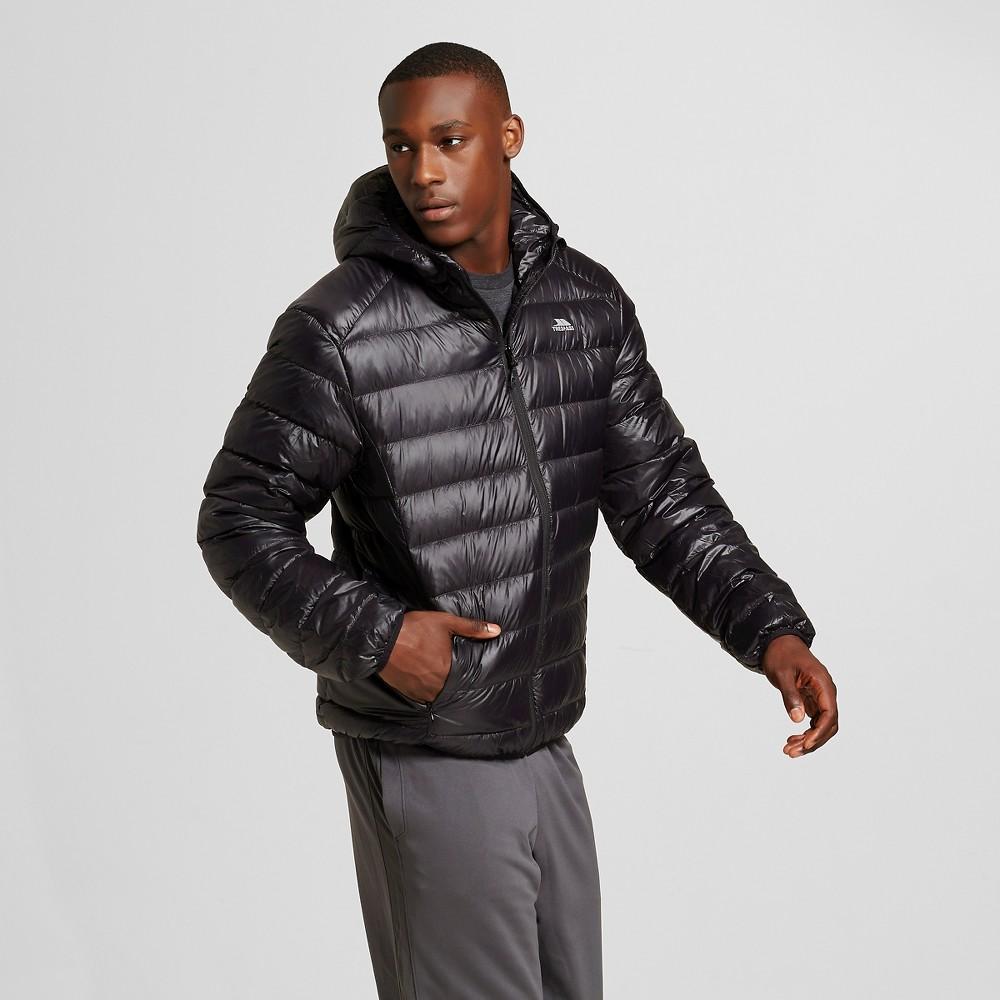 Men's Down Ultra Lightweight Packable Jacket Black - Trespass S, Size: Small