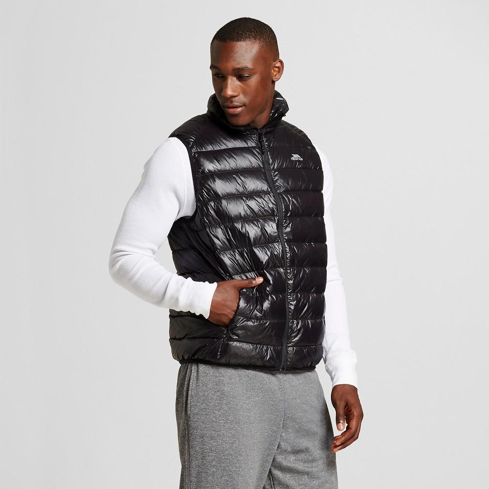 Men's Down Ultra Lightweight Packable Puffer Vest Black - Trespass S, Size: Small