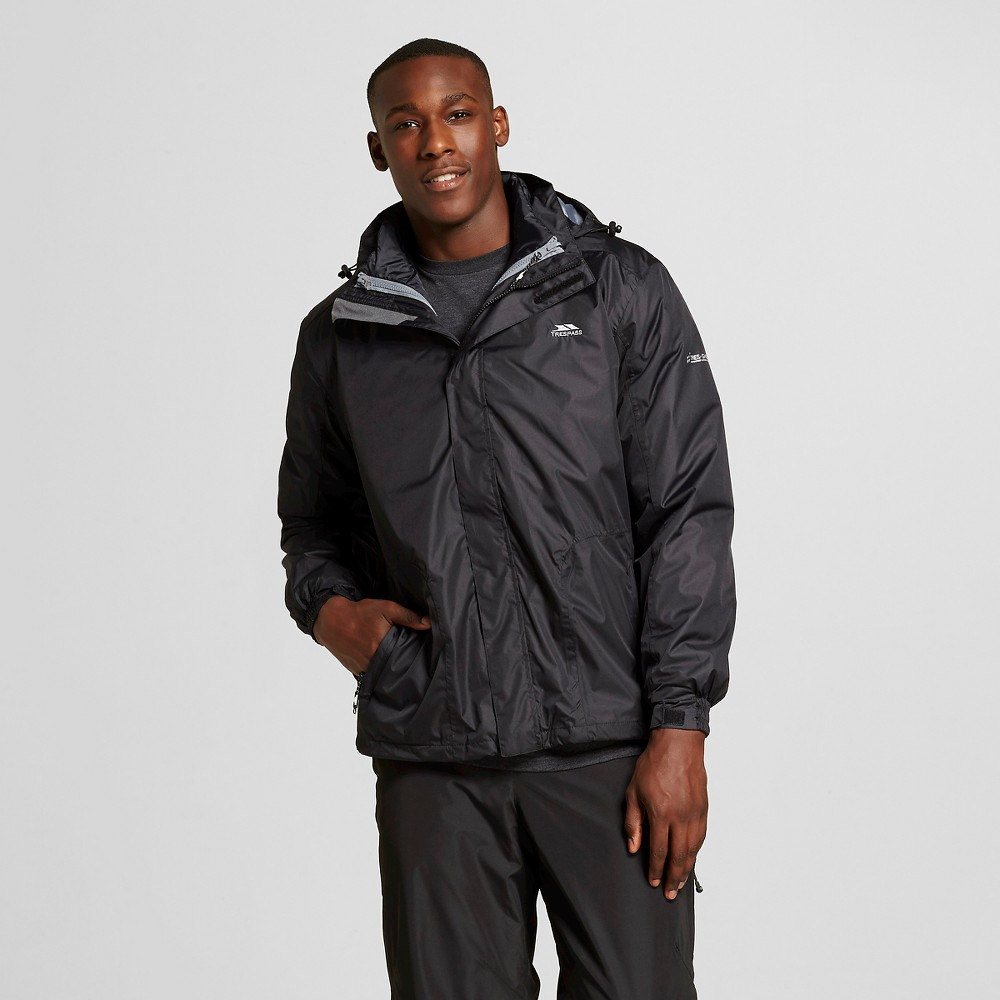 Men's 3 in 1 Systems Jacket Pembroke Black - Trespass S, Size: Small