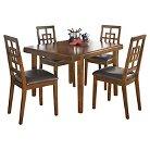 5 Piece Cimeran Rectangular Dining Room Table Set Wood/Medium Brown - Signature Design by Ashley