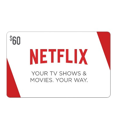 Netflix $60 (Email Delivery)