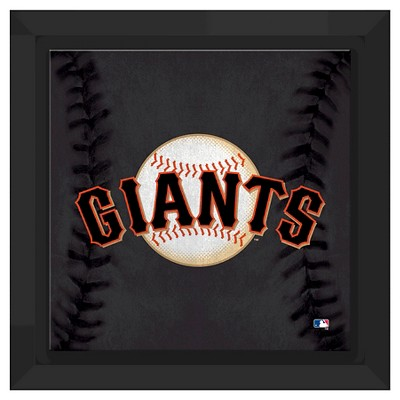 San Francisco Giants Logo Framed Canvas
