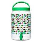 4.1 liter Plastic Beverage Dispenser - Multi-colored Dots