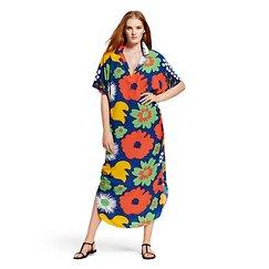 Marimekko for Target Women's Long Kaftan Dress - Kukkatori Print - Primary