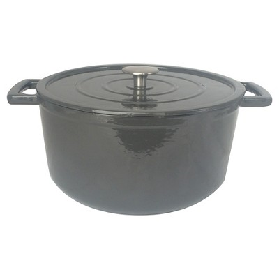 6 Quart Cast Iron Dutch Oven - Hot Coffee - Threshold™