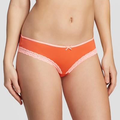 Women's Bikini Briefs Exciting Orange L - Xhilaration™