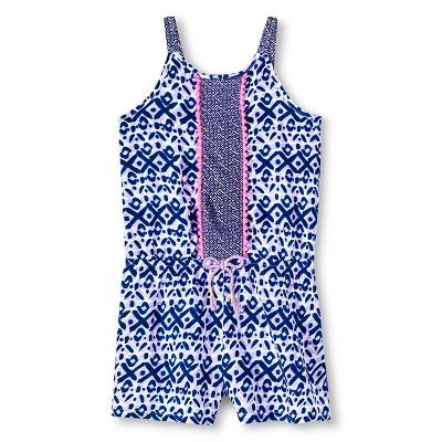 Toddler Girls' Challis Romper Purple 3T - Cherokee®