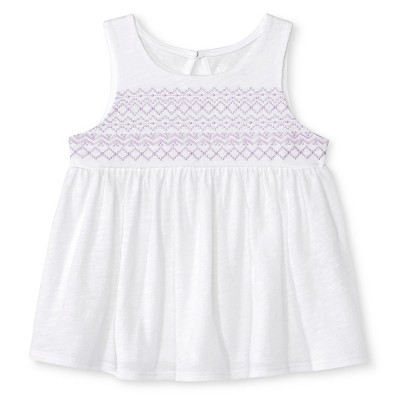 Baby Girls' Morocco Top and Short-Short Set White 18M - Cherokee®