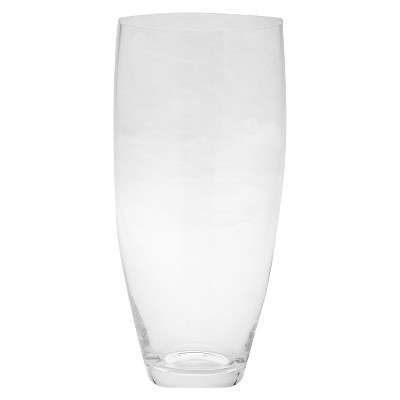 11 x5  Glass Rounded Vase - Diamond Star