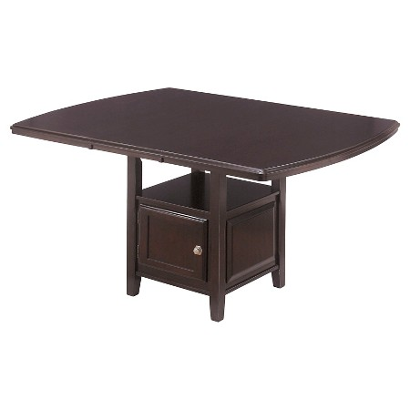 description page ridgley square dining room counter extendable table