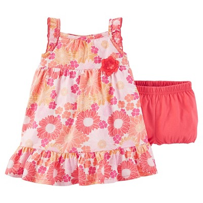 Just One You™Made by Carter's® Baby Girls' Floral Dress - Pink NB