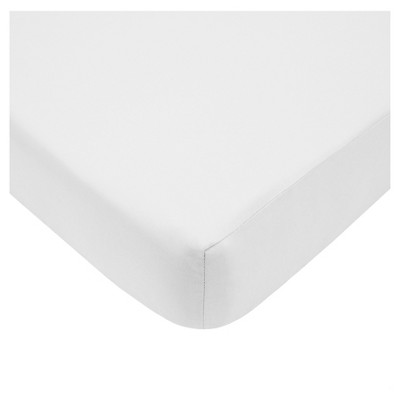 TL Care® Baby Crib Fitted Sheet Sandstone