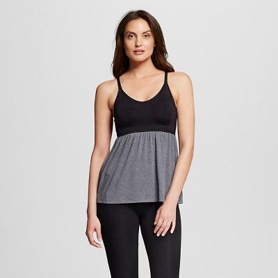 Women's Nursing Fluid Knit Sleep Cami Black L - Gilligan & O'Malley™