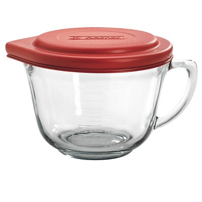 Anchor Hocking 2 qt Batter Bowl with Lid