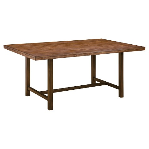 riggerton rectangular dining room table wood bur target
